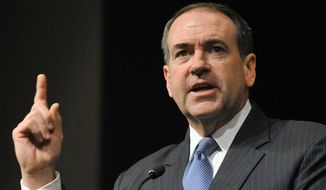 **FILE** Mike Huckabee