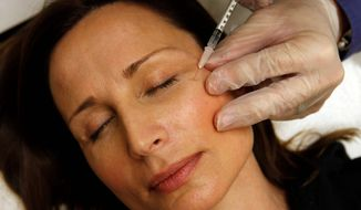 A Vatican document, which includes a section on women, urges women to age naturally without products, such as Botox shots. (Photo: The Washington Times)