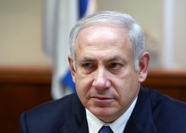 **FILE** Israeli Prime Minister Benjamin Netanyahu (Associated Press)