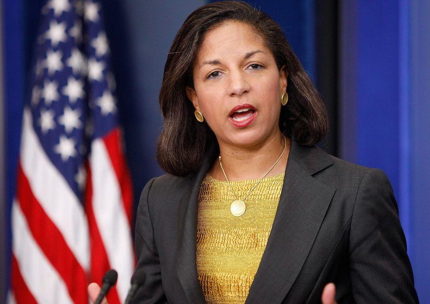 ** FILE ** Susan E. Rice, U.S. ambassador to the United Nations (AP Photo)