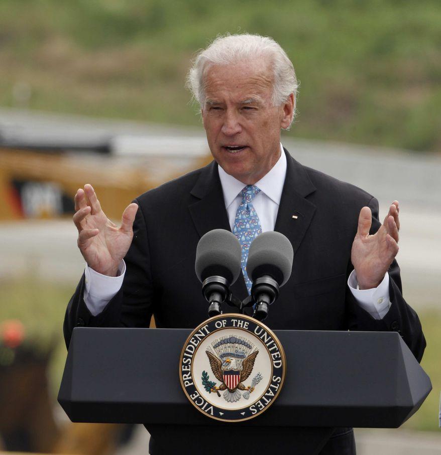 **FILE** Vice President Joe Biden (Associated Press)