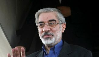 **FILE** Iran opposition leader Mir Hossein Mousavi (Associated Press)