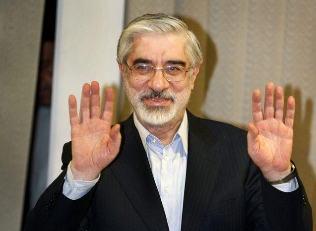 **FILE** Mir Hossein Mousavi