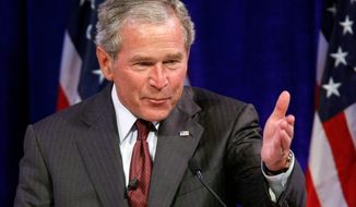 Former President George W. Bush (AP photo)