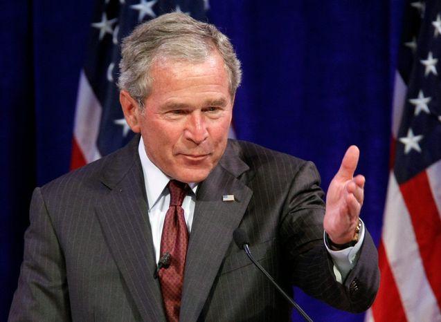 Former President George W. Bush (AP photo)