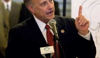 **FILE** Rep. Steve King (Associated Press)