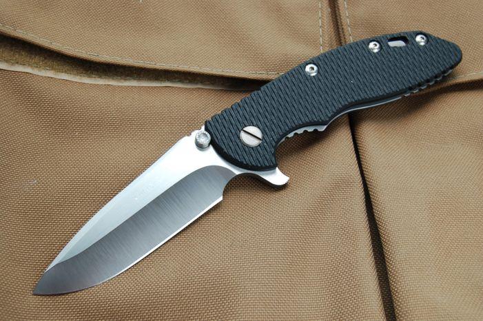 A Rick Hinderer XM-18 knife.   (Photo courtesy of knifefights.org)