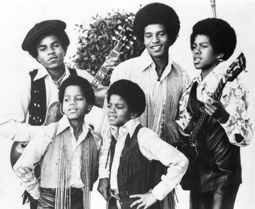 The family musical group Jackson 5 is shown in Los Angeles, Ca., in this undated photo.  The lead singer is Michael, front right, the youngest brother at ten years old.  With him are his brothers, from left, Tito, 16; Marlon, 11; Jackie, 19; and Jermaine, 14.  More than eight million copies of their first three record albums have been sold.  (AP Photo)