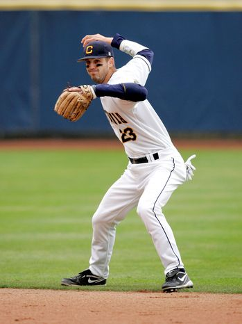 Michael Pimentel / University of California Second baseman Jeff Kobernus agreed to a $705,500 signing bonus before reporting to Class A Vermont.