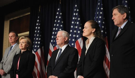GETTY IMAGES Secretary of Defense Robert M. Gates and Undersecretary of Defense for Policy Michele A. Flournoy are spearheading efforts to develop new defenses for military computer networks.