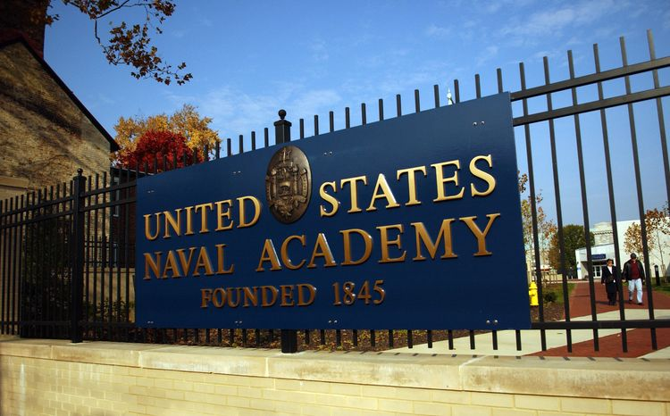 The United States Naval Academy in Annapolis (Astrid Riecken/The Washington Times)