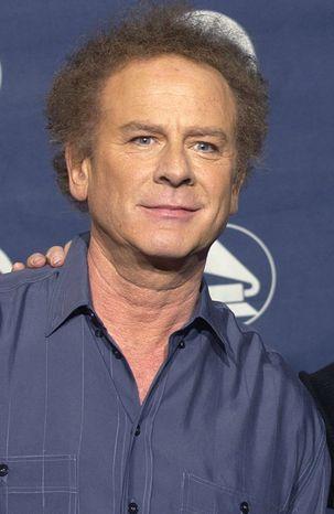 ** FILE ** Singer Art Garfunkel poses backstage at the Grammy Awards on Feb. 23, 2003, in New York. (AP Photo/Kathy Willens)