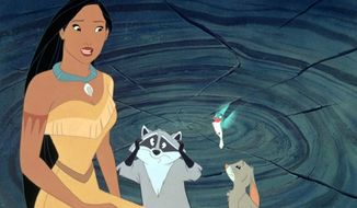 """Disney's """"Pocahontas"""" is a film that teaches us about nature. (Associated Press)"""
