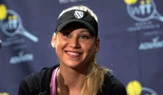 Anna Kournikova. (Associated Press) ** FILE **