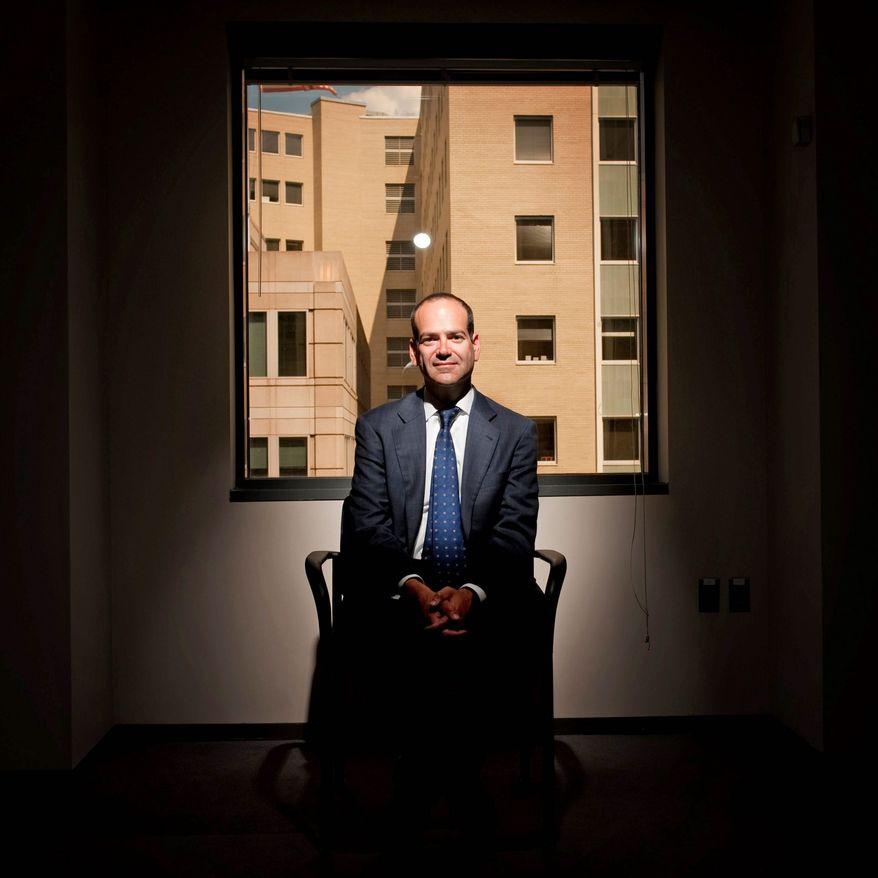 Neil Barofsky (Michael Connor/The Washington Times)