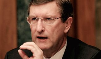 Sen. Kent Conrad, North Dakota Democrat, is chairman of the Senate Budget Committee.