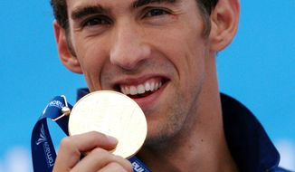 Getty Images Michael Phelps won five gold medals and a silver at the world championships in Rome.