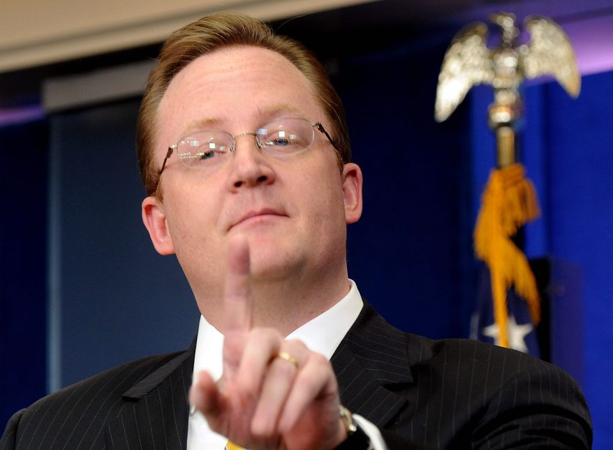 ** FILE ** White House press secretary Robert Gibbs (AP photo)