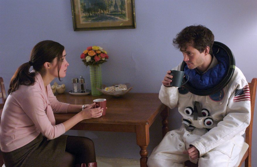 """** FILE ** Rose Byrne and Hugh Dancy star in """"Adam,"""" which depicts a young man's struggle with Asperger's syndrome."""