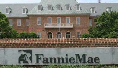 getty images Fannie Mae headquarters in Washington.