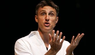 The Rev. Tullian Tchividjian, pastor of the Coral Ridge Presbyterian Church in Fort Lauderdale, Fla., since March, preaches at a church in Coconut Creek, Fla., in 2007  (AP Photo/Wilfredo Lee, File) ** FILE **