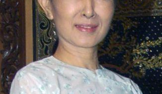 **FILE** Aung San Suu Kyi (Associated Press)