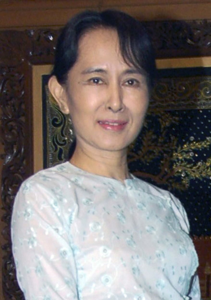 **FILE** Aung San Suu Kyi (Associated Press)