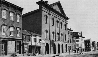 Ford's Theatre (Library of Congress)