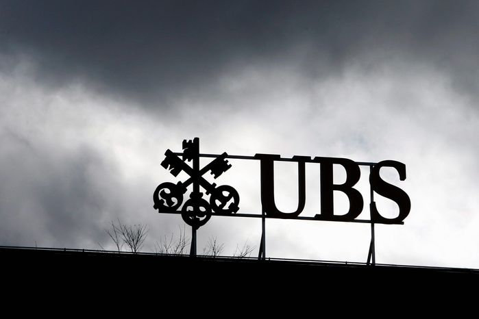 ** FILE ** The Swiss bank UBS in Zurich (AP Photo)