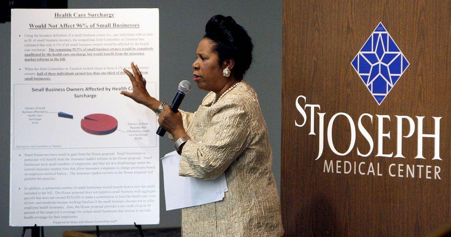 Rep. Sheila Jackson Lee, Texas Democrat (Associated Press)