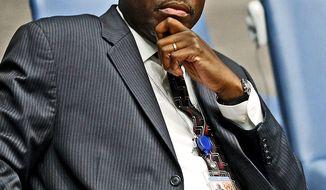 Atoki Christian Ileka (UN photo/Paulo Filgueiras)