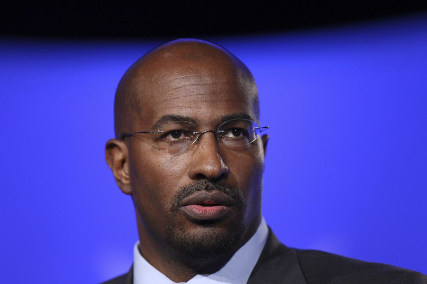 Van Jones is seen at the National Summit in Detroit in on June 16, 2009. (AP Photo/Carlos Osorio) ** FILE **