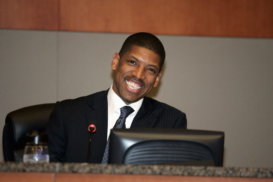 ** FILE ** Mayor Kevin Johnson of Sacramento, Calif., in 2009.