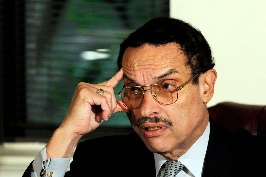 ROD LAMKEY JR./THE WASHINGTON TIMES FILE D.C. Council Chairman Vincent C. Gray.