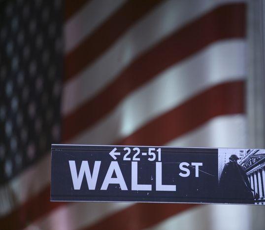 ** FILE ** Wall Street, New York (AP Photo/Mark Lennihan, File)