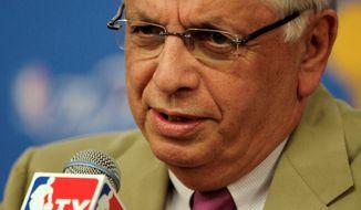 Associated Press David Stern