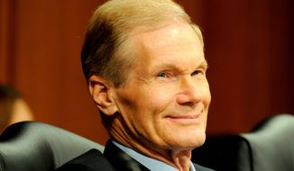 **FILE** Sen. Bill Nelson, Florida Democrat (Mary F. Calvert/The Washington Times)