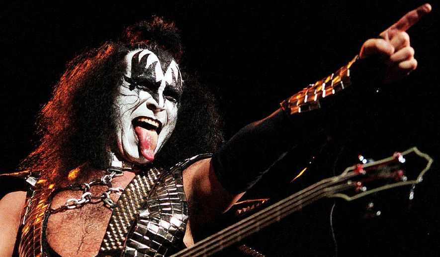 Gene Simmons of KISS. ** FILE **