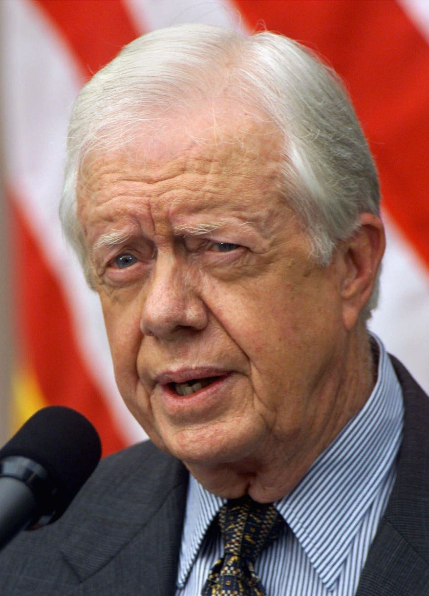 Associated press Former President Jimmy Carter