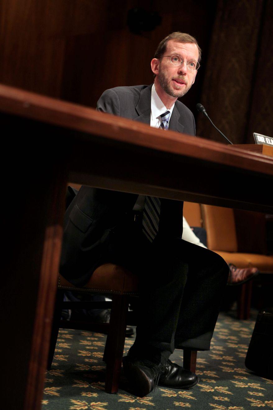 **FILE** Congressional Budget Office Director Douglas Elmendorf (Associated Press)