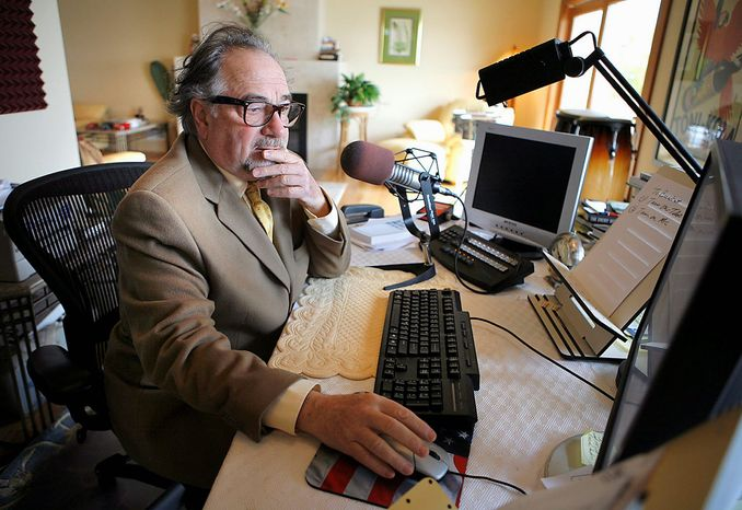 Associated press Radio talk show host Michael Savage.