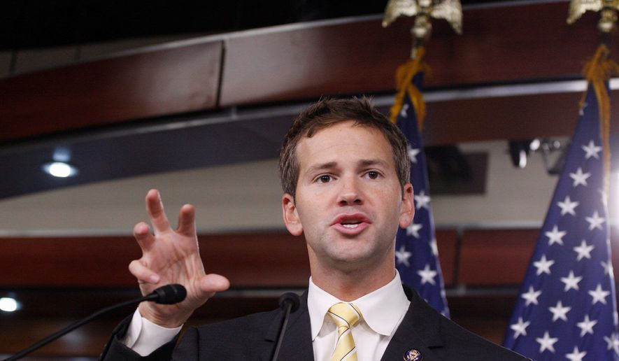 Rep. Aaron Schock. (Associated Press)