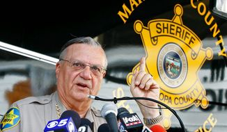**FILE** Maricopa County, Ariz., Sheriff Joe Arpaio (Associated Press)