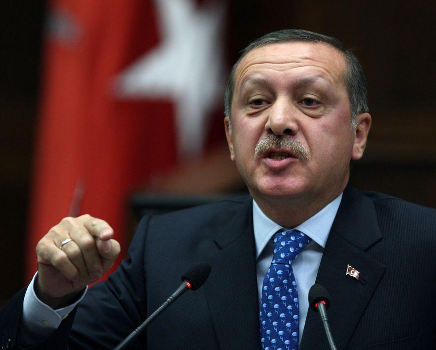** FILE ** Turkish Prime Minister Recep Tayyip Erdogan