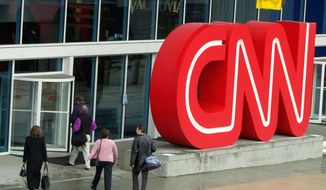 ASSOCIATED PRESS CNN headquarters in Atlanta