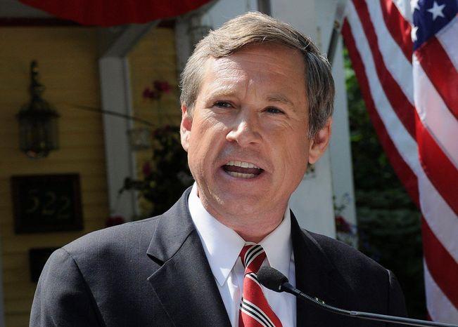**FILE** Sen. Mark Steven Kirk, Illinois Republican (AP Photo)