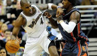 Peter Lockley / The Washington Times Forward Antawn Jamison has missed all nine of the Wizards' games this season. ** FILE **