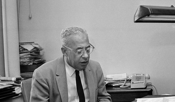 """Saul Alinsky author of """"Rules for Radicals."""" (Associated Press)"""