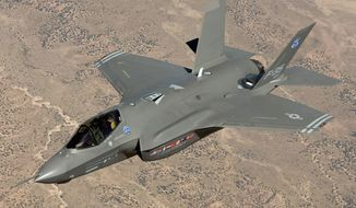 The F-35 joint strike fighter jet