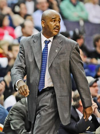John Thompson III's Georgetown Hoyas will begin the 2011-12 season at noon on Saturday against Savannah State. (Joseph Silverma /The Washington Times)